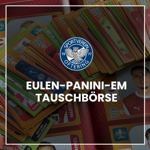 Eulen Panini EM-Sticker Tauschbörse